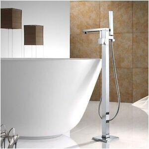 Freestanding Bathtub Faucet Sales Floor Mount Bath Clawfoot Tub Filler Faucet Bathtub