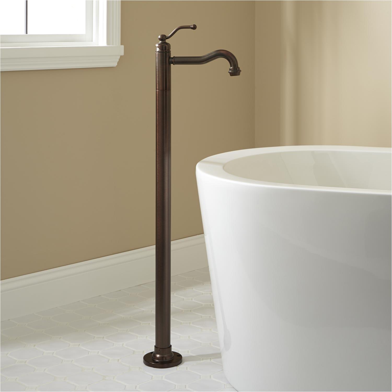 leta freestanding tub faucet