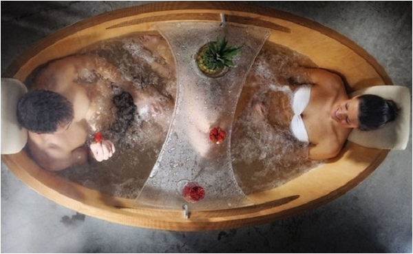 freestanding whirlpool tub modern bathroom