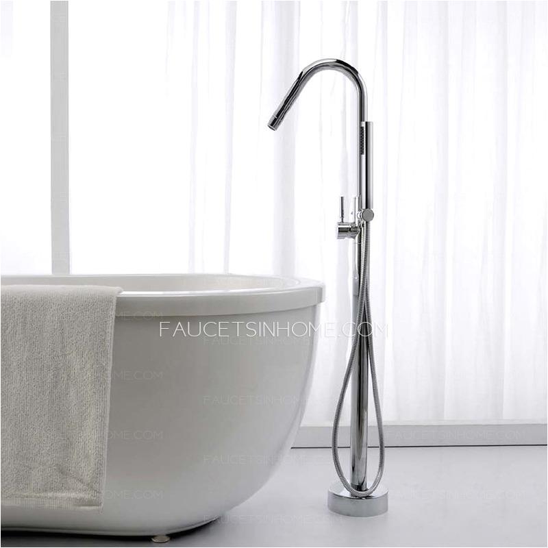 modern two handle freestanding bathtub shower faucet p 430