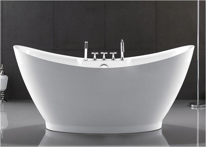 Freestanding Bathtub for Sale European Style Resin Freestanding Tub Custom Size Deep