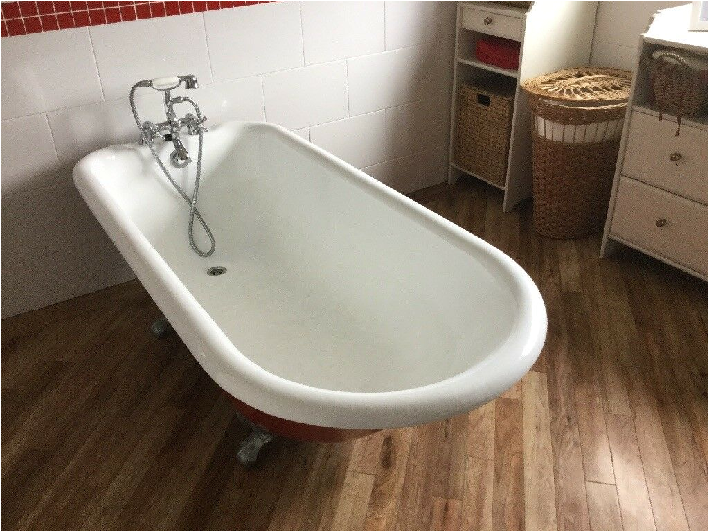 Freestanding Bathtub Gumtree Free Standing Cast Iron Roll top Bath