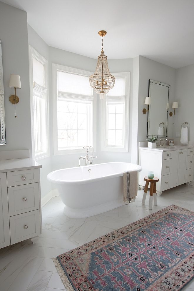 Freestanding Bathtub Layout Freestanding Bath Between Vanities Master Bathroom Layout