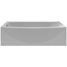 Freestanding Bathtub Left Drain Bathtubs at Lowesforpros