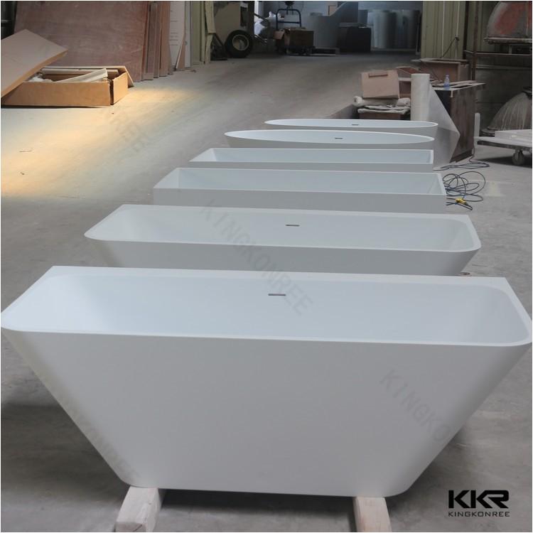 Acrylic free standing shower bath tub