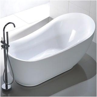 Freestanding Bathtub On Sale Sale Vanity Art Freestanding 71 Inch Slipper Style