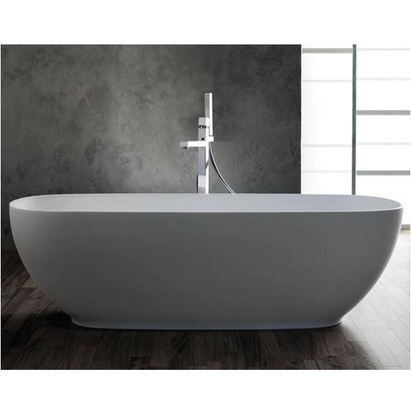 freestanding bathtub alexia color blubleu
