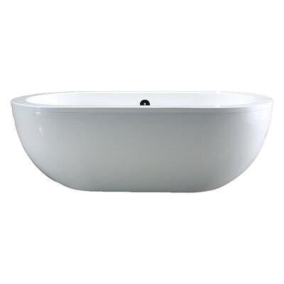 Ove Decors Serenity 71 x 34 Acrylic Freestanding Bathtub Serenity XOV1055