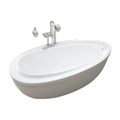 Spa Escapes Capricia 71 x 38 Soaking Bathtub WF3871BS XVZ1529