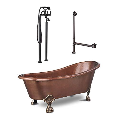 copper freestanding bathtubs