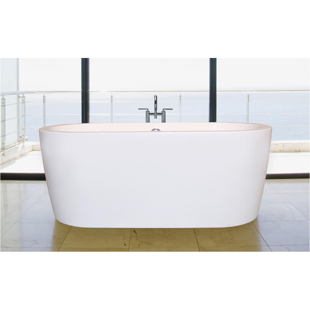 aquatica purescape 014 freestanding acrylic bathtub white multiple sizes aquatica spc purescape spc 014