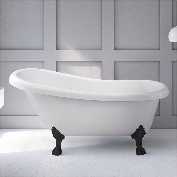 daniela 58 x 30 freestanding soaking bathtub by hydro systems