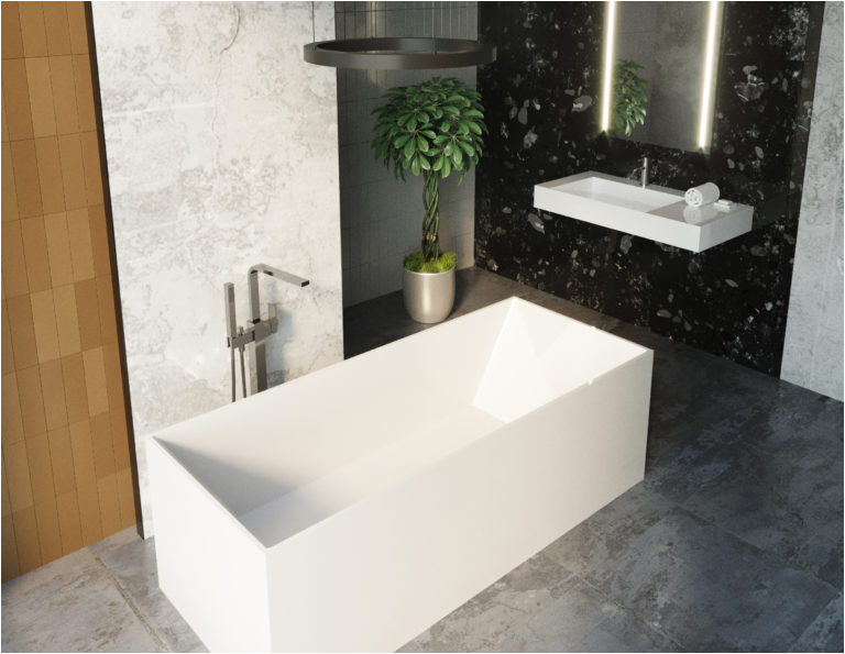 freestanding bathtub bw 07