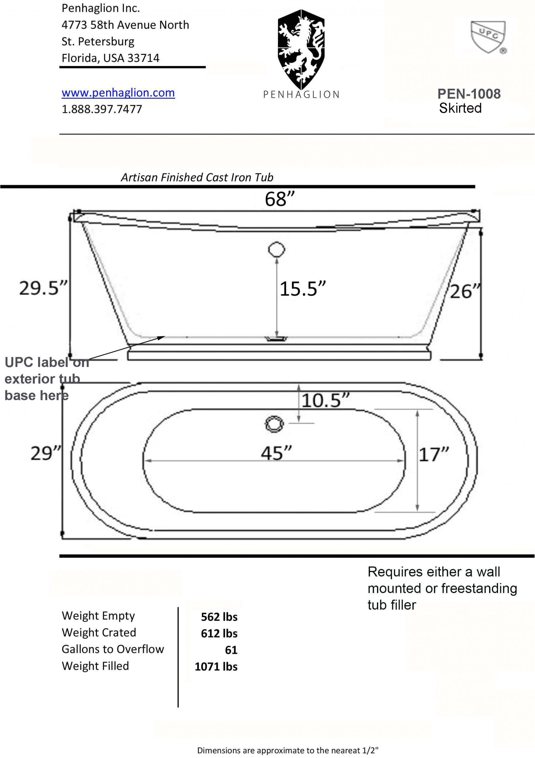 choose your best standard bathtub size and type will fit into your space