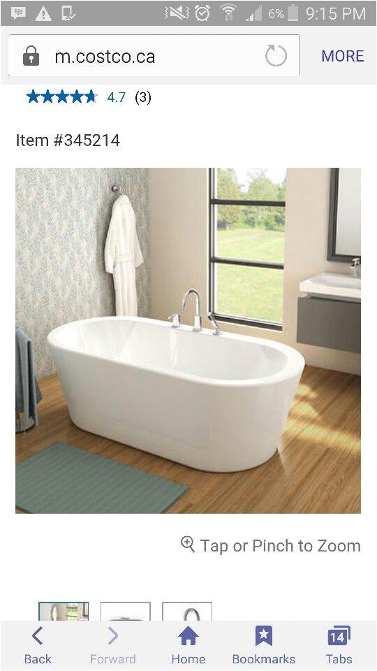 Freestanding Bathtub with Deck Mount Faucet Freestanding Tub with Deck Mounted Faucet From Costco