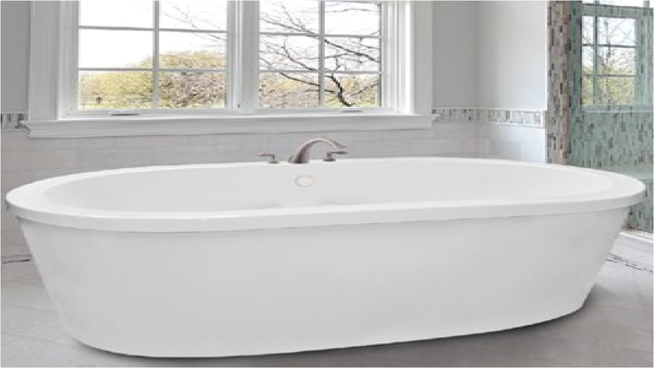 Freestanding Bathtub with Faucet Deck Free Standing Air Tubs Deck Mount Faucet with