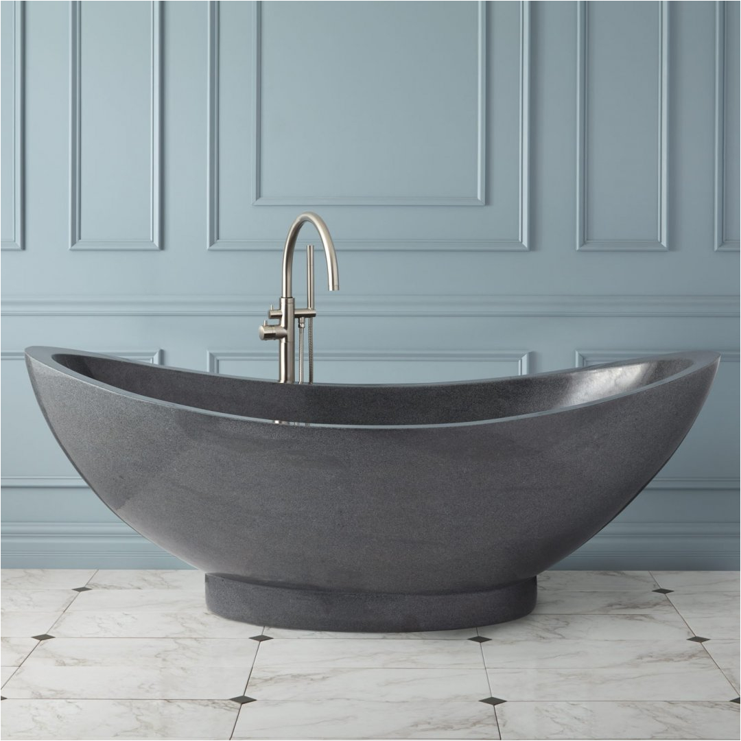 upgrade your bathroom in totally unique style with resin bathtubs design