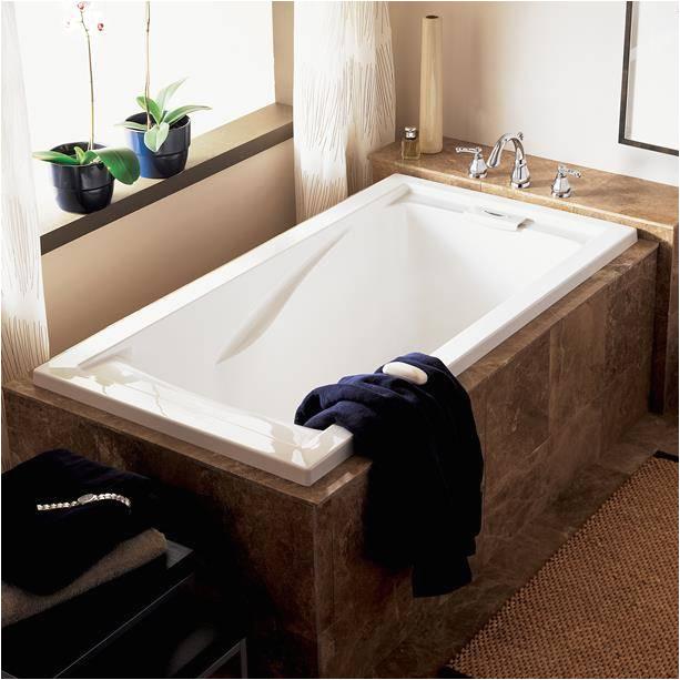evolution 60 inch by 32 inch deep soak bathtub