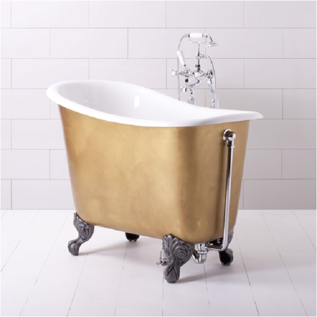 Freestanding Bathtubs In Small Bathrooms Small Freestanding Bath Makes Big Bathroom Splash