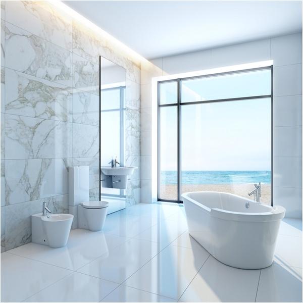 contemporary freestanding bathtub design ideas