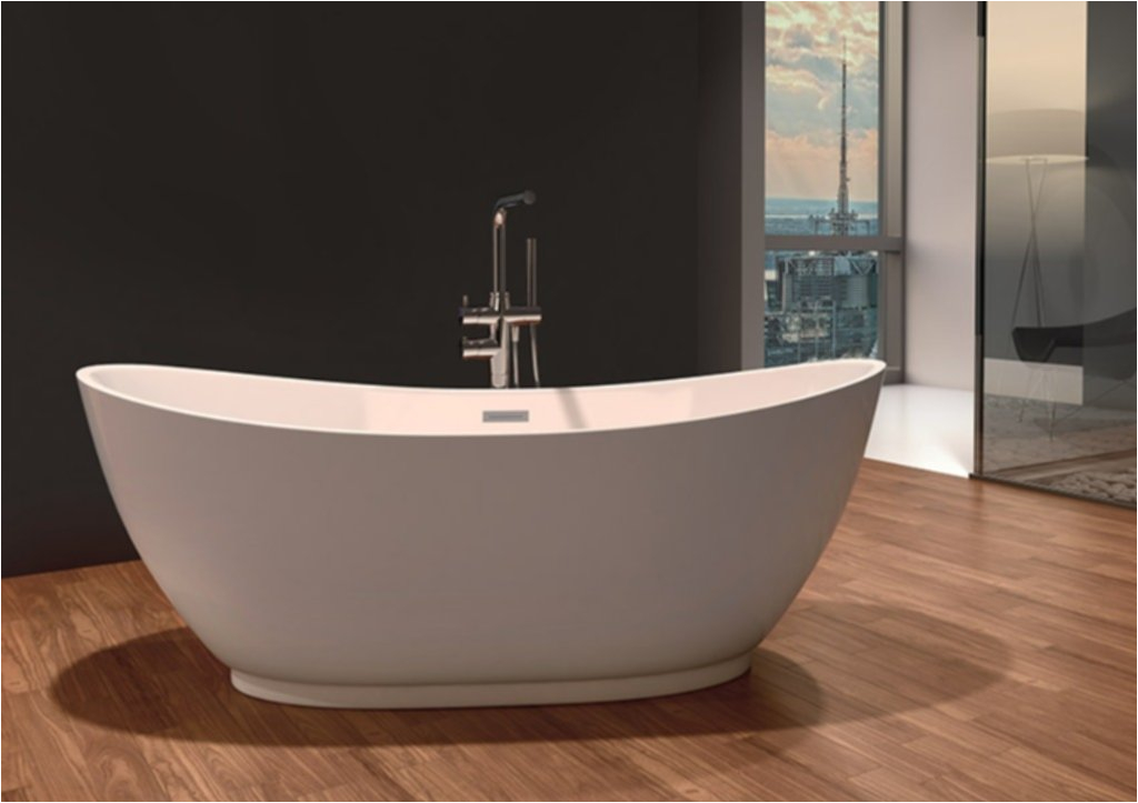 Freestanding Elegant Bathtub Unique Freestanding soaker Tub for Elegant Bathroom Design