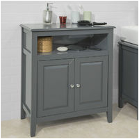 Freestanding Grey Bathroom Storage Freestanding Bathroom Furniture
