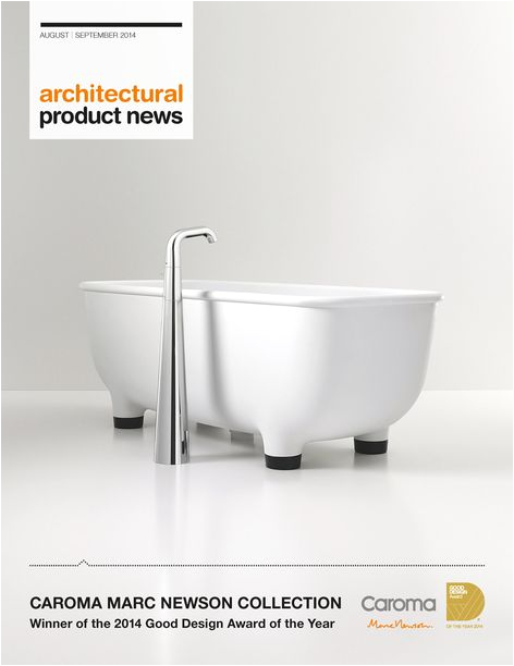 Freestanding Tub Faucet Installation On Slab Caroma Marc Newson Collection From Gwa Bathrooms and