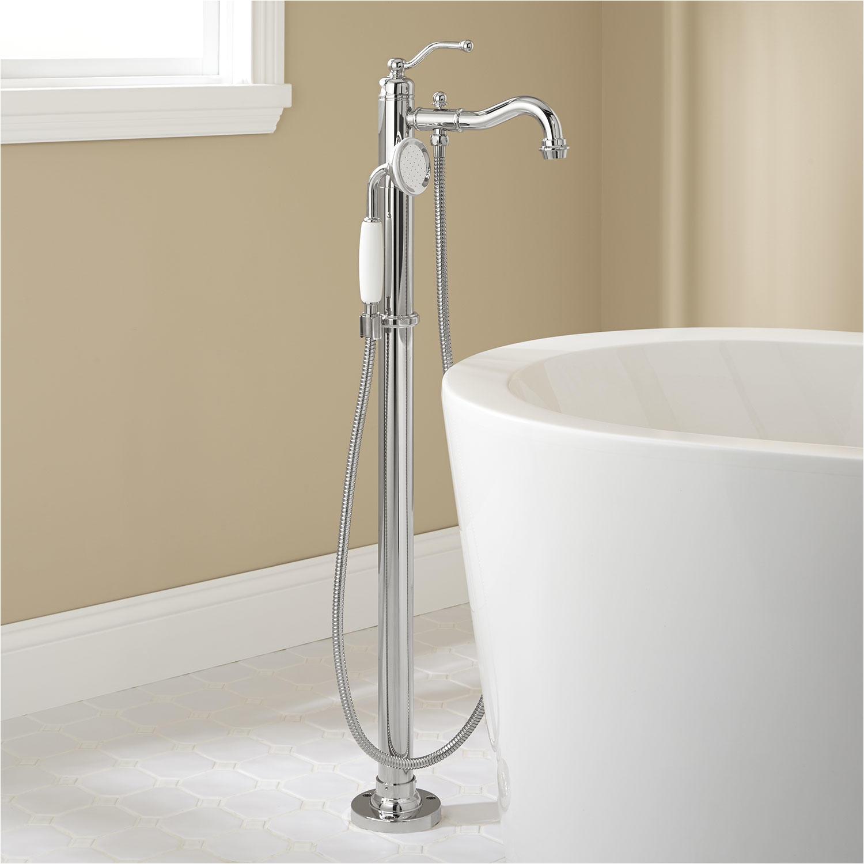 Freestanding Tub Faucet Parts Signature Hardware Leta Freestanding Tub Faucet with
