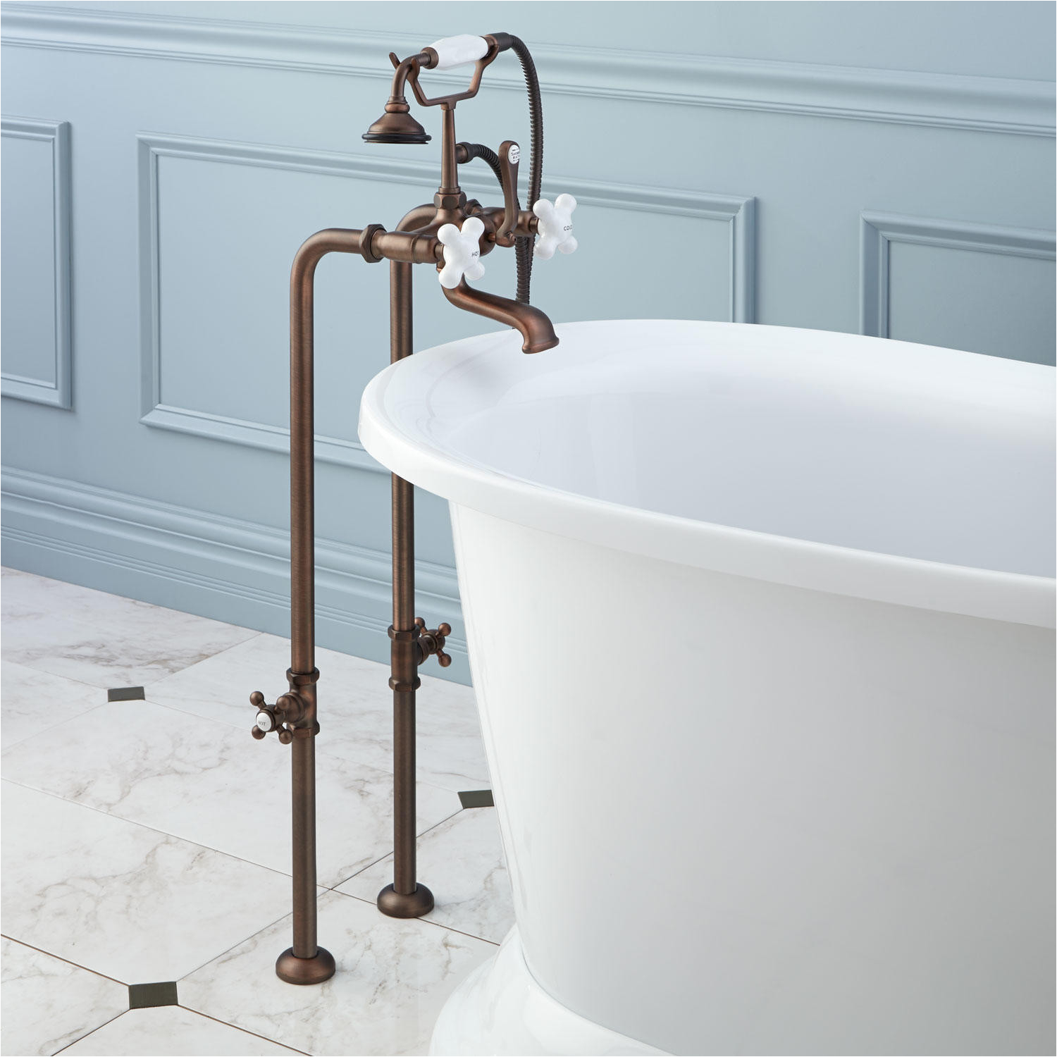 Freestanding Tub Faucet Valve Freestanding Telephone Tub Faucet Supplies and Valves