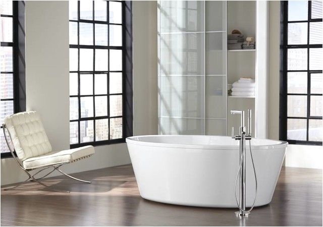 moen arris freestanding tub modern bathroom modern bathroom cleveland