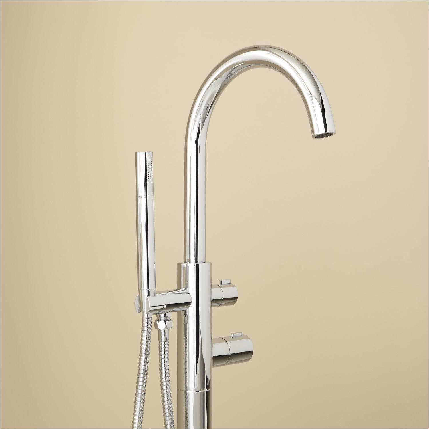 Freestanding Tubs and Faucets Algos thermostatic Freestanding Tub Faucet Tub Faucets