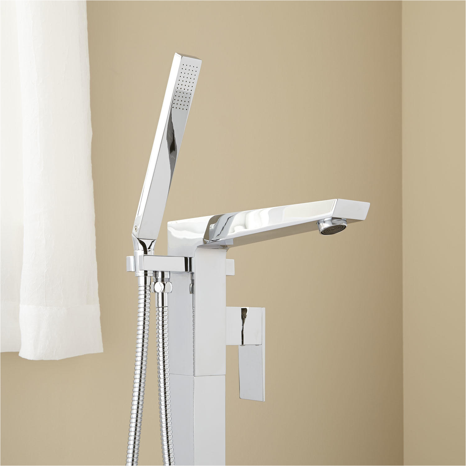 cybelle freestanding tub faucet with hand shower