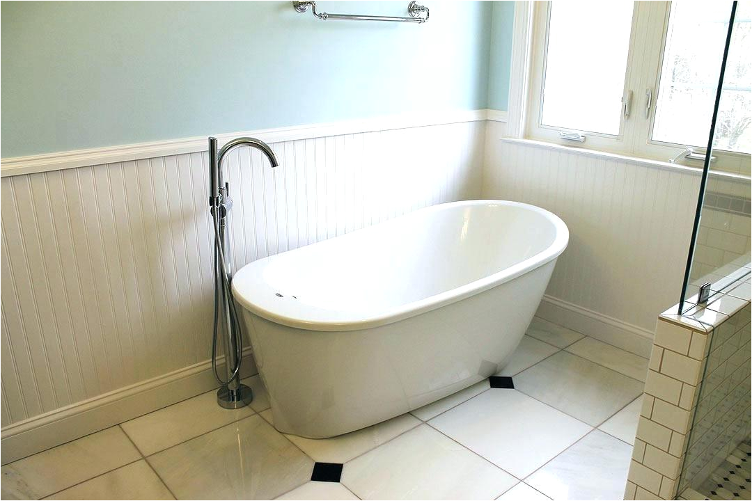 wall faucet for freestanding tub