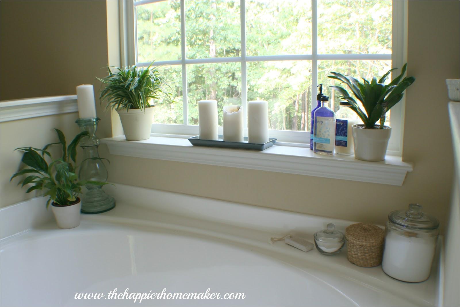 decorating around bathtub