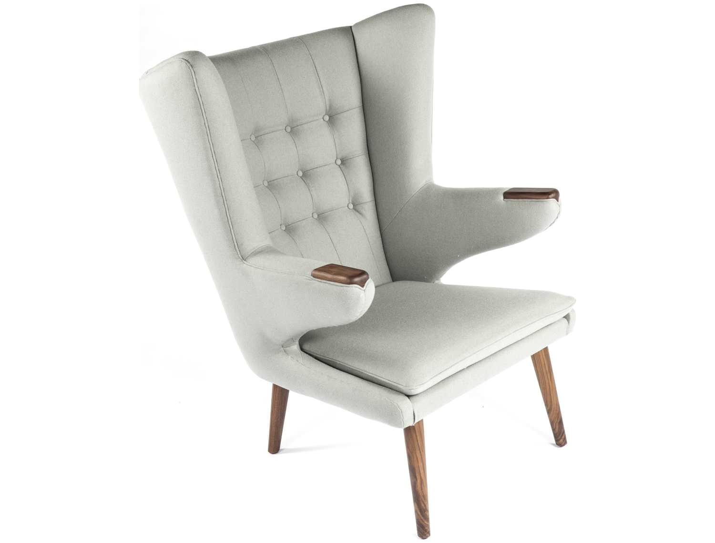 stilnovo olsen accent chair modern living room snfec8539lgrey