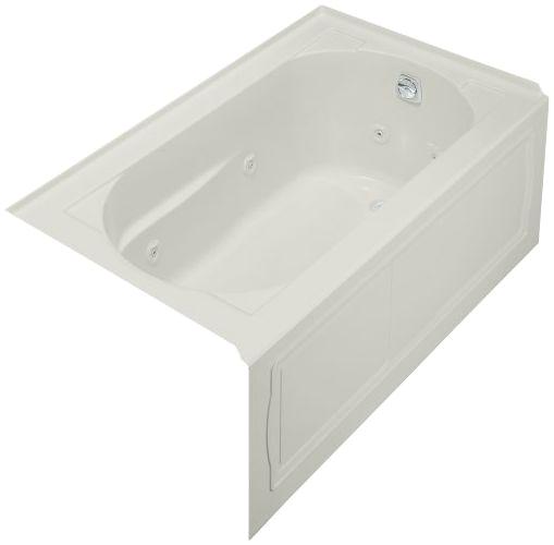 Grey Whirlpool Bathtub Kohler Devonshire 5 Ft Whirlpool Tub In Ice Grey 1357 Hr