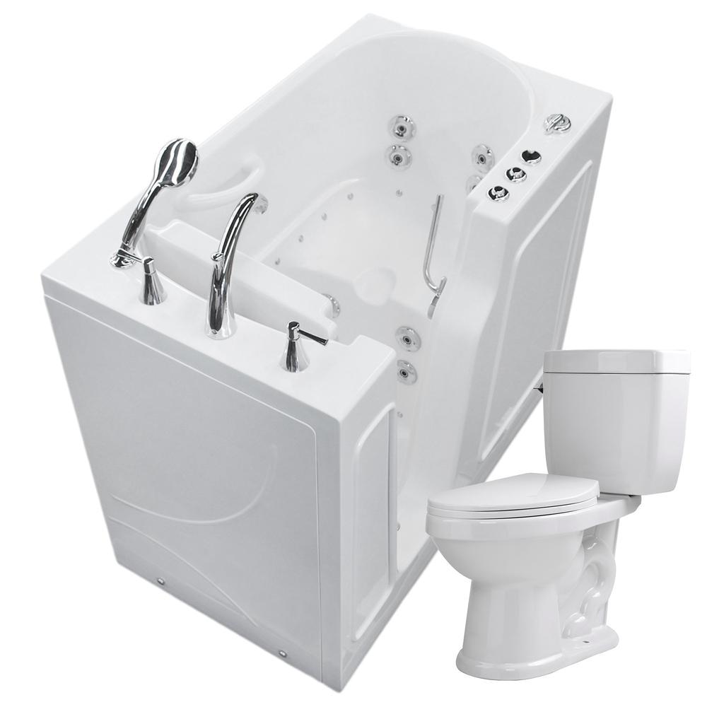 Heated Jetted Bathtub Universal Tubs Nova Heated 45 75 In Walk In Whirlpool and