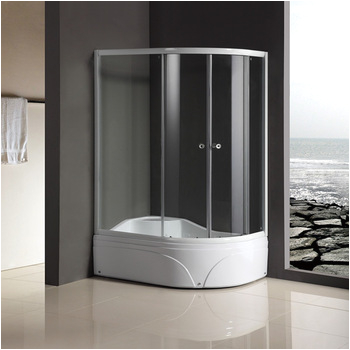 high quality bathtub size shower enclosures