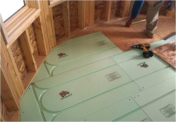 hydronic radiant floor heating benefits