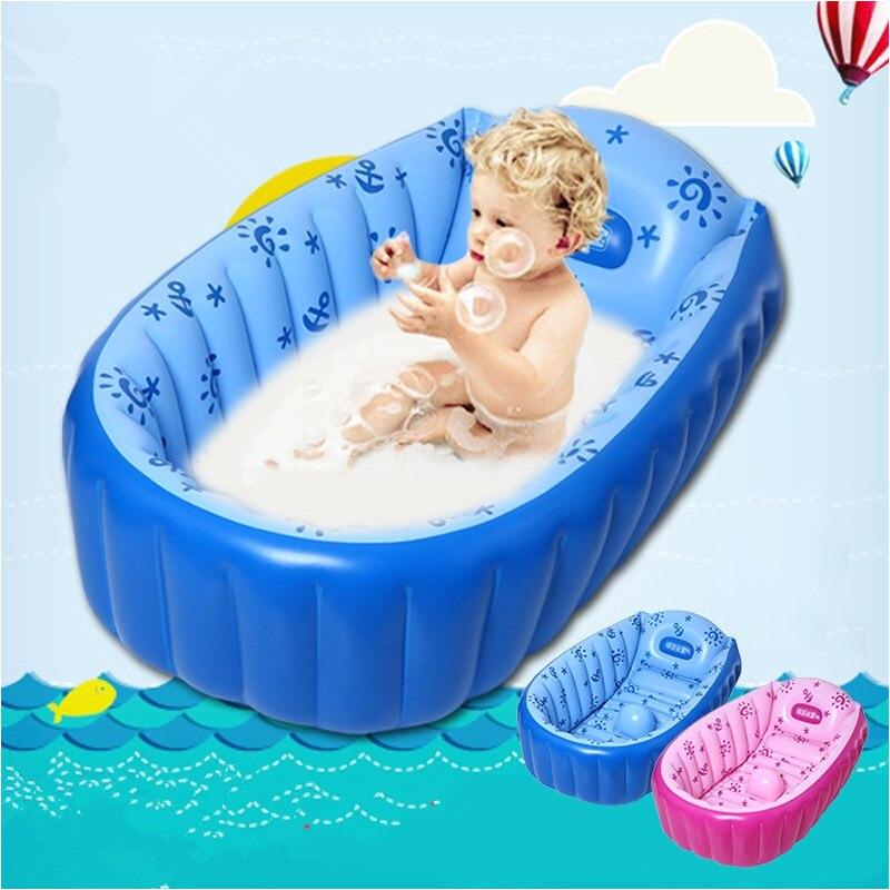 Inflatable Baby Bathtub Australia 2016 Newborn Baby Portable Bathtub Inflatable Pool