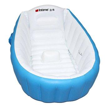 Inflatable Baby Bathtubs Intime Plastics Yt 226a Inflatable Baby Bath Tub Blue