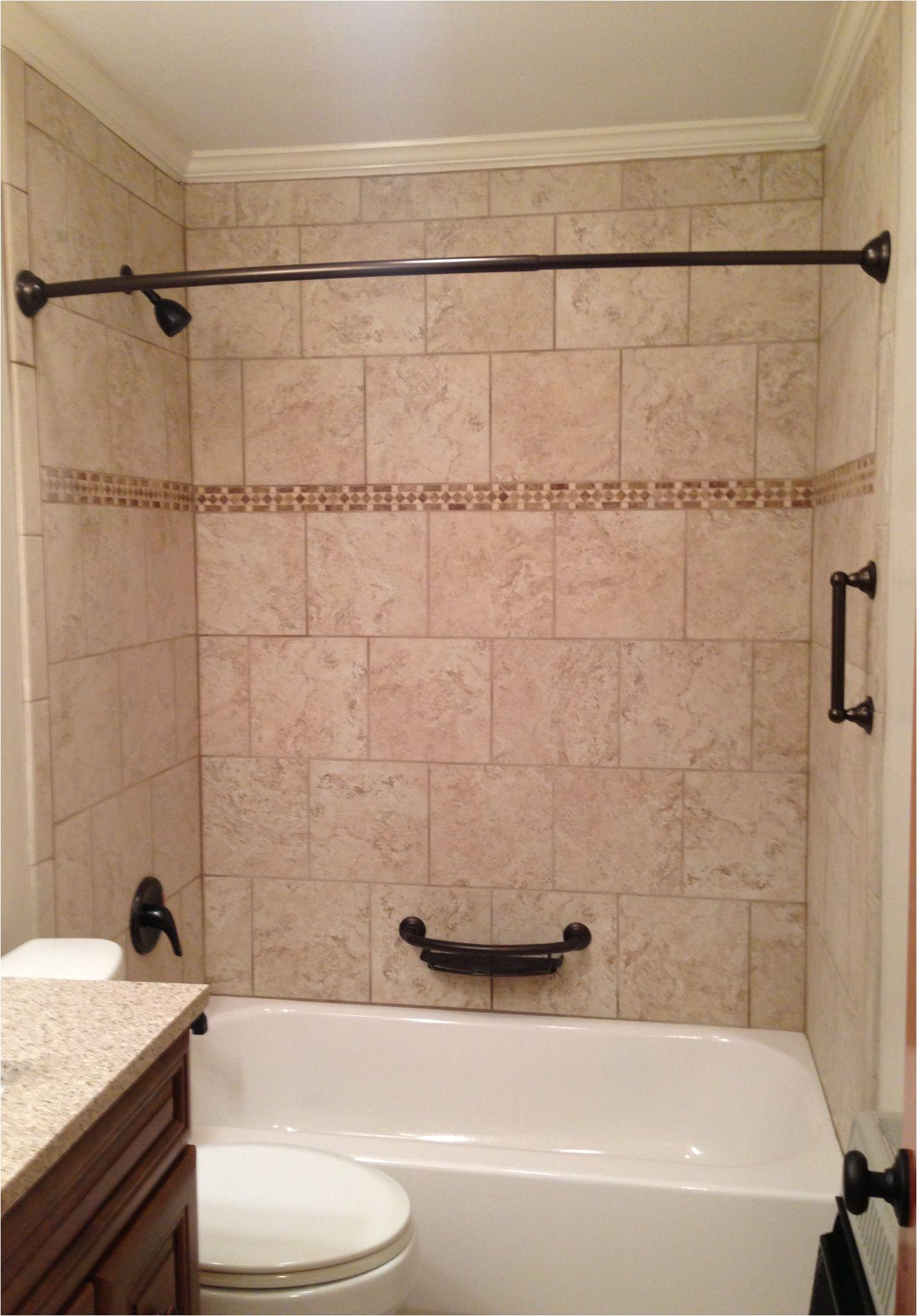 Install Bathtub Surround Over Ceramic Tile Tile Tub Surround Beige Tile Bathtub Surround with Oil