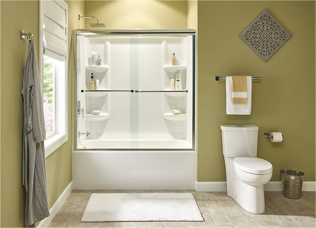 american standard studio bathing collection highlights clean design easy installation