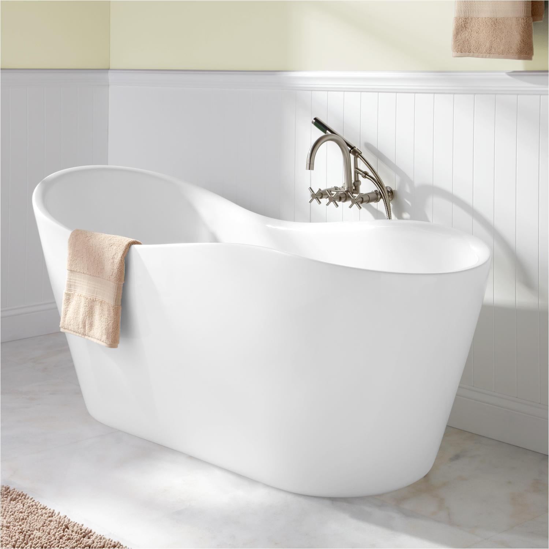 65 iredell acrylic freestanding tub
