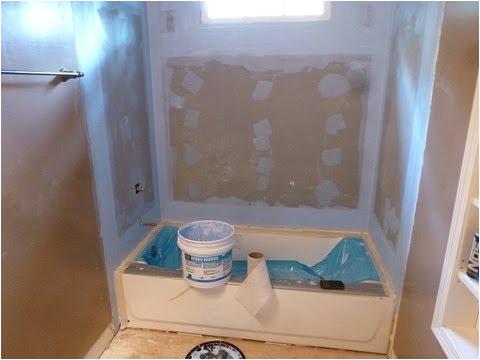 "Is Bathtub Surround Tile Backer Board Installation 60"" Bathtub Surround"