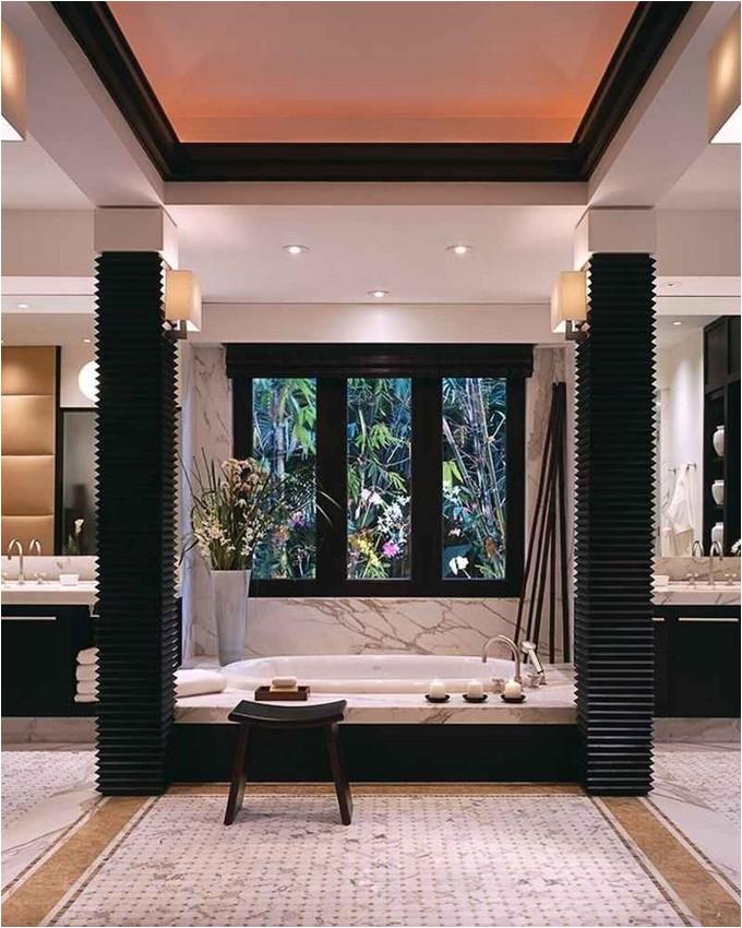 sunken bathtubs modern bathroom
