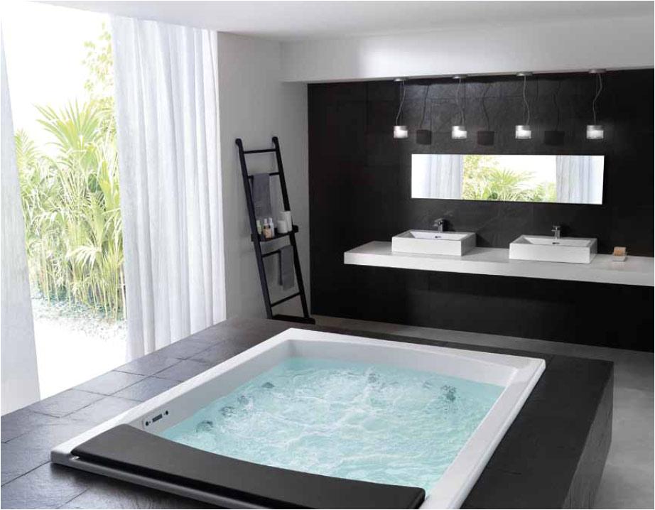 modern bathtubs teuco hydrosonic whirlpools