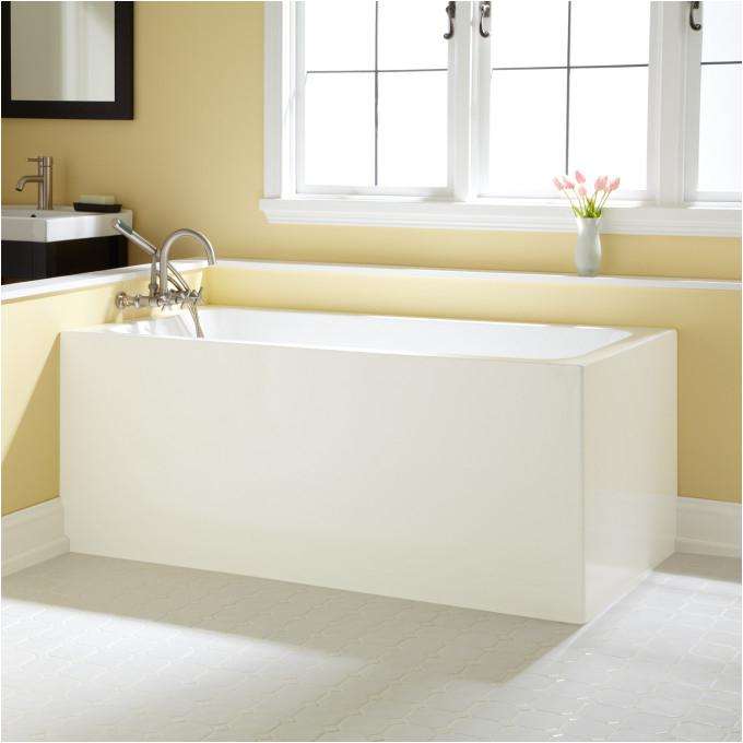 aliyah acrylic corner tub