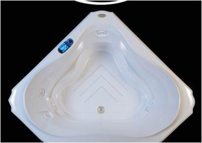 jacuzzi bellavista corner bath 3d model