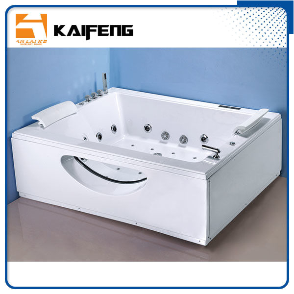sale t shape inlet electric jacuzzi whirlpool bath tub with air bubble water jets